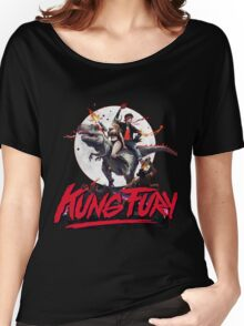 Kung Fury Retro Movie Women's Relaxed Fit T-Shirt