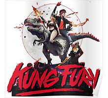 Kung Fury Retro Movie Poster