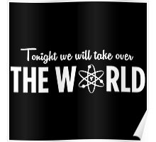 Pinky and the Brain - Take over the world Poster