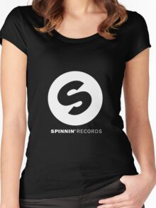 Spinnin' Records Women's Fitted Scoop T-Shirt