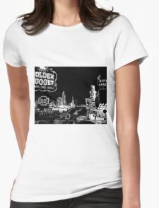 Old Las Vegas Womens Fitted T-Shirt