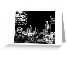 Old Las Vegas Greeting Card