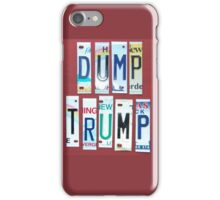 me peterson designs | dump trump iPhone Case/Skin
