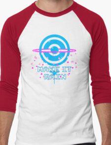 Pokemon Go - Make it Rain Men's Baseball ¾ T-Shirt