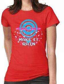 Pokemon Go - Make it Rain Womens Fitted T-Shirt