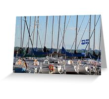 Aylmer Marina Greeting Card
