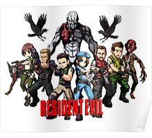 Resident Evil Chibi Poster