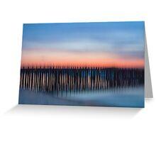 Toll bridge blur Greeting Card