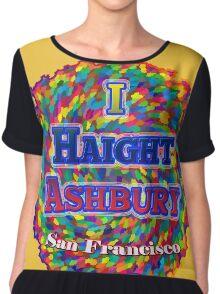 I Haight Ashbury - San Francisco Chiffon Top