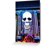 Skul Graffiti Greeting Card