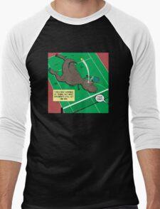 T-Rex Tennis Men's Baseball ¾ T-Shirt