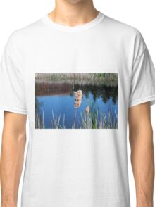Cattail I- horizontal Classic T-Shirt