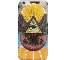 Flying Eye of  Providence iPhone Case/Skin