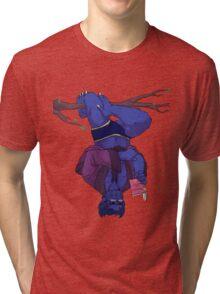 A Well-Read Beast Tri-blend T-Shirt