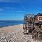 Crab Pots On Monmouth Beach - Lyme Regis by Susie Peek