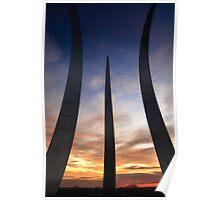 Air Force Memorial #3 Poster