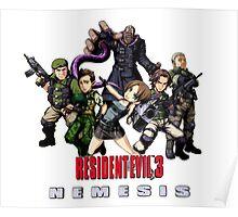 Resident evil 3 Nemesis  Poster