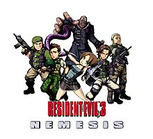 Resident evil 3 Nemesis  Photographic Print