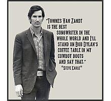 Townes Van Zandt Photographic Print