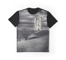 Broadway Tower Monochrome Graphic T-Shirt