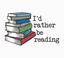 Id Rather Be Reading Kids Tee
