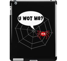 Spider - U WOT M8 v2 iPad Case/Skin