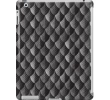 Feather Armor Scales - Black  iPad Case/Skin