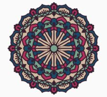 Mandala - Circle Ethnic Ornament Baby Tee