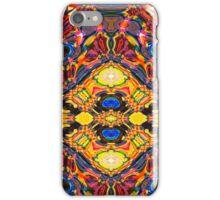 Ideoscope - Primary Color Modern Art Fractal Design iPhone Case/Skin
