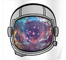 Space helmet Poster