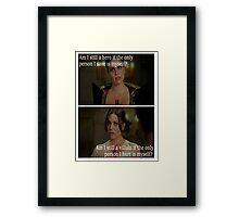 Once Upon A Time - Regina Mills - Evil Queen Framed Print