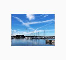Lyme Regis Harbour - July Morning Unisex T-Shirt
