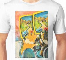 Welsh Pembroke Corgi~Cardigan~Dog~Arcade~FRIENDS~FUN Unisex T-Shirt