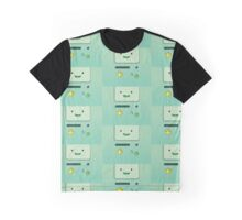 Adventure Time Beemo Smile  Graphic T-Shirt