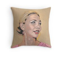 Elena Vogue Throw Pillow
