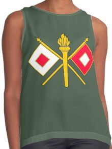 Signal Corps - Branch Insignia (United States Army) Contrast Tank