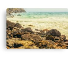 Rugged Beauty Of Lizard Point Canvas Print
