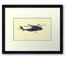 CH-53 artwork Framed Print