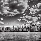 New York from the Hudson by Epicurian