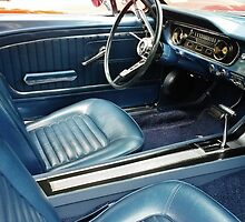 blue interior, car show by cloewald