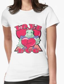 LOVE BUG Womens Fitted T-Shirt