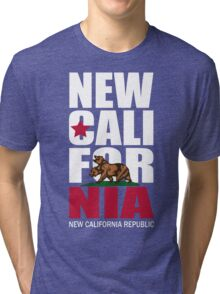 New California Republic Tri-blend T-Shirt
