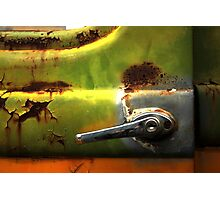 Abstract Truck Detail - Perris CA Photographic Print