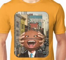 Basketball Head - In the City Unisex T-Shirt