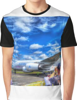Airbus A380 Roll Out Graphic T-Shirt
