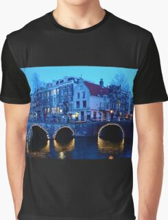 Dusk in Amsterdam Graphic T-Shirt