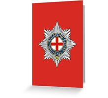 Coldstream Guards (UK) Greeting Card