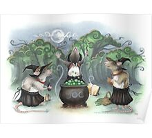 Three Wee Witches Poster