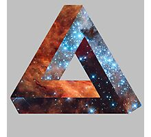 Impossible triangle galaxy Photographic Print