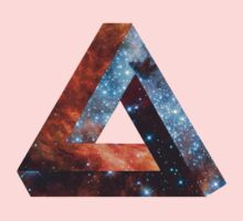 Impossible triangle galaxy Kids Clothes